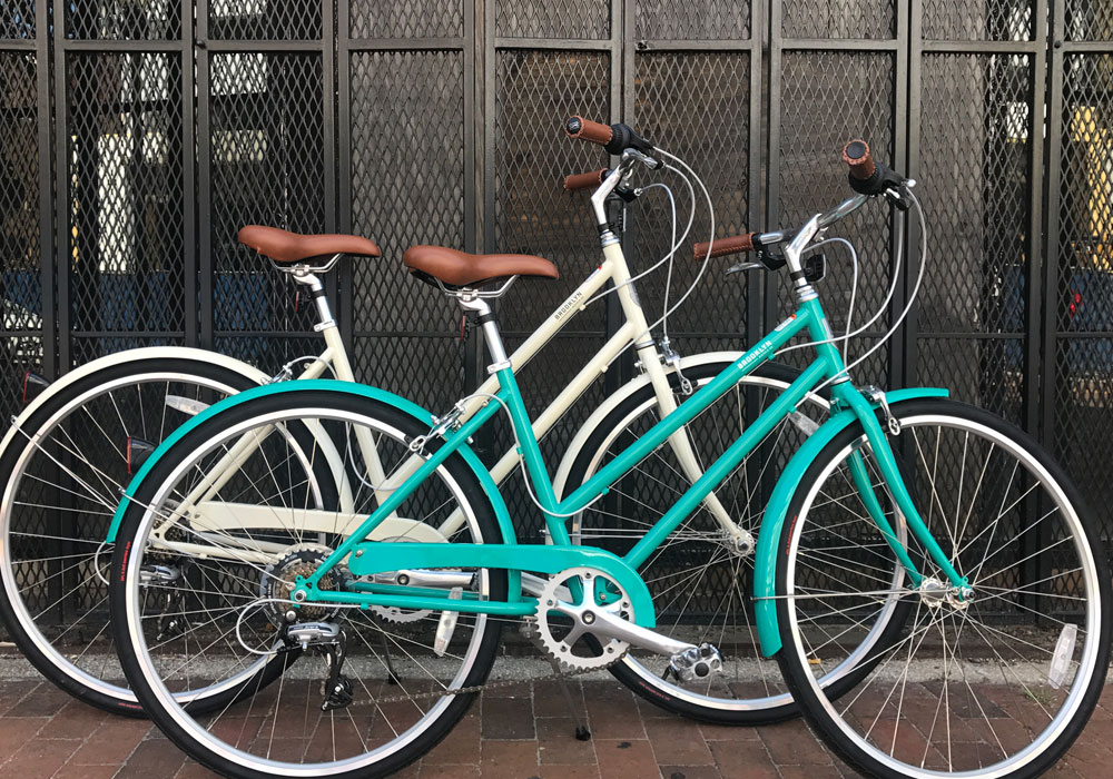 City Bike Tampa rental bike Brooklyn Franklin 7